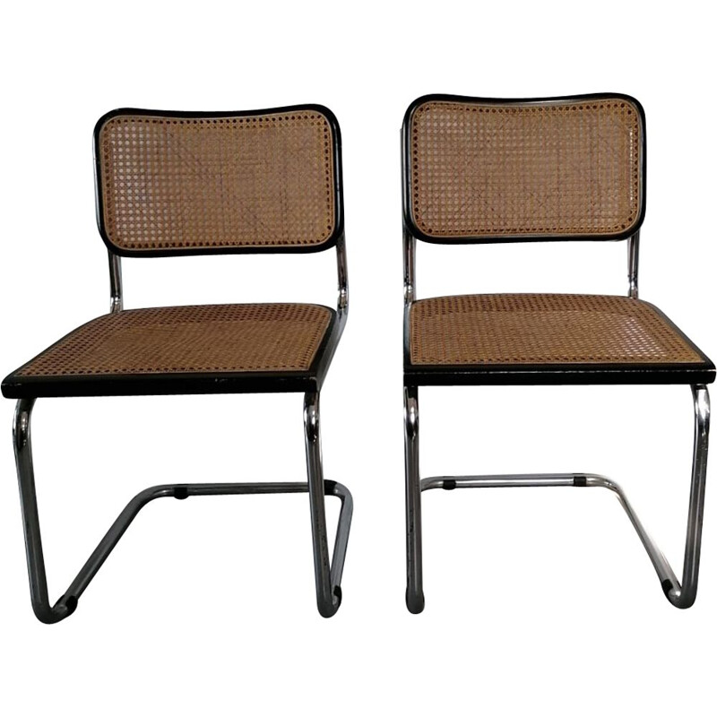 Pair of Marcel Breuer vintage chairs 1970 80