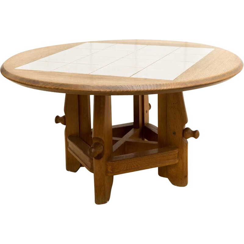 Adjustable table for Guillerme and Chambron 1960s