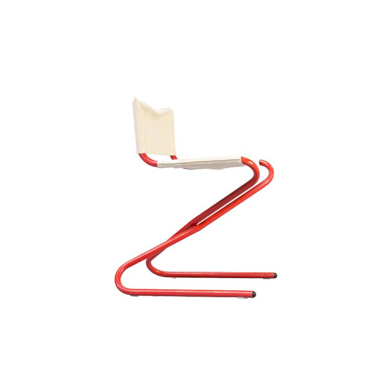 Vintage Z chair foldable by Erik Magnussen for Torben Orskov, 1960s