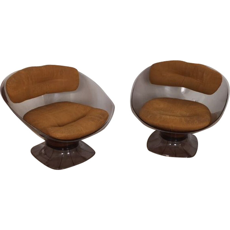 Pair of armchairs by Raphael 1970