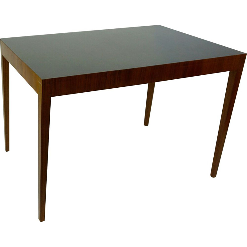 Austrian Midcentury Walnut Dining Table by Julius Jirasek for Hagenauer