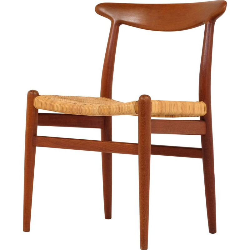 Chair W2 by Hans Wegner for C.M Madsen 1960s