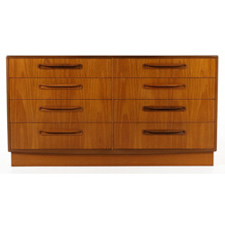 G Plan double chest of drawers, Victor WILKINS - 1960s
