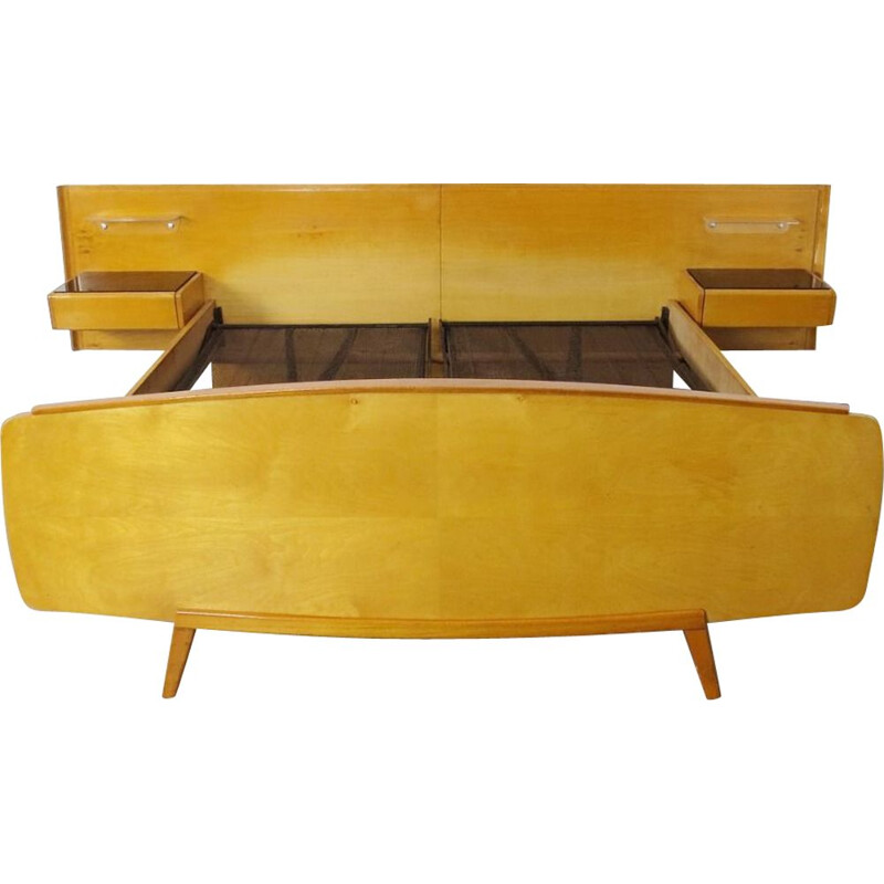 Double bed produced during the 1960's