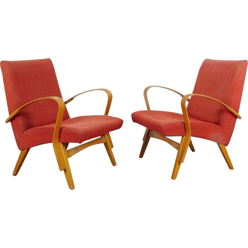 Set of armchair produce by Frantisek Jirak in the Czechoslovakiaa 1970's