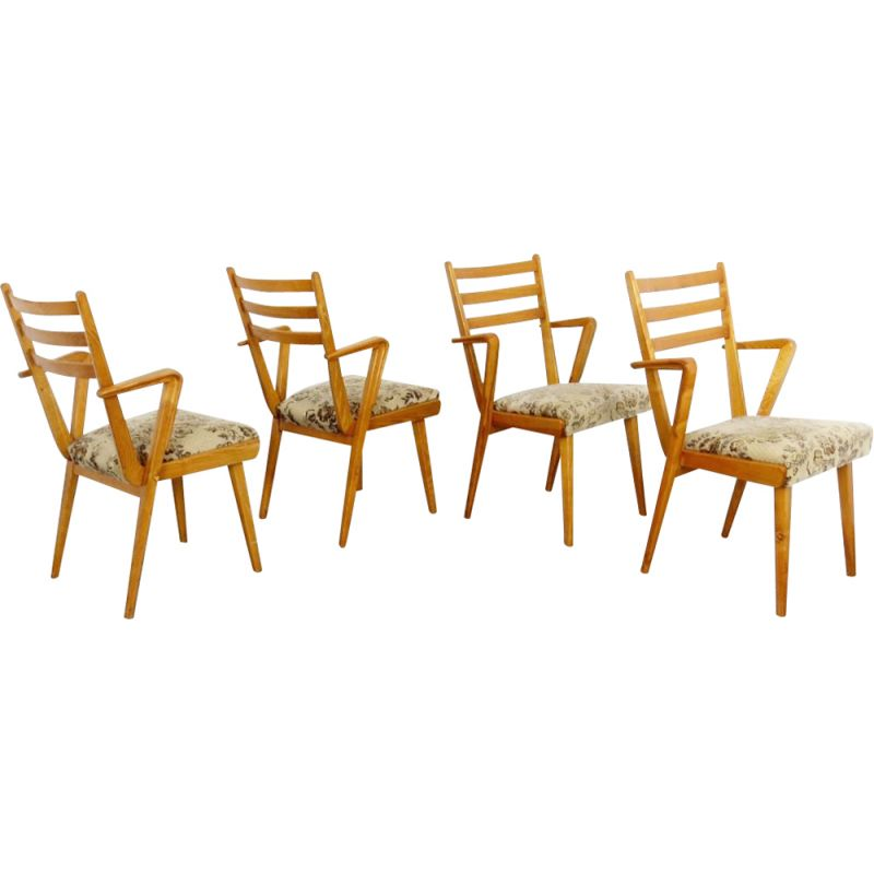 Dining chair by Jitona in the Czechoslovakia 1960's
