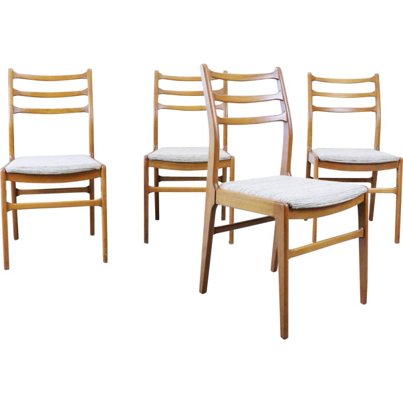 Set of 4 vintage table chairs, Sweden 1960