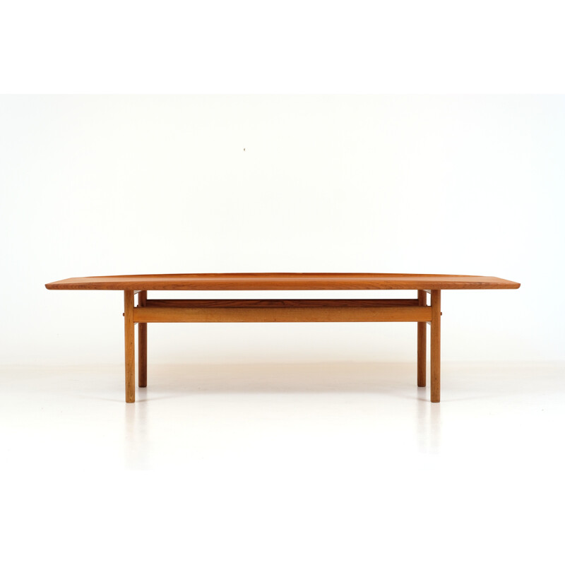 Vintage coffee table Grete Jalk Edition Poul Jeppesens 1960