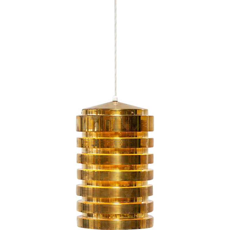 Brass light fixture by Hans Agne Jakobsson T487 Markaryd 1960