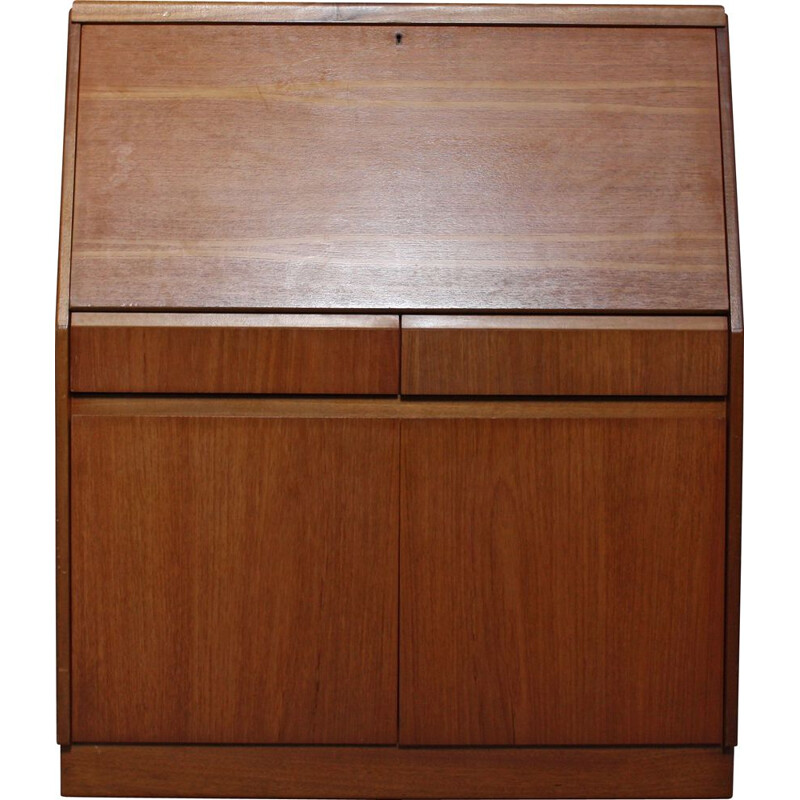 English Teak Secretaire from Remploy Mid-Century 1960s