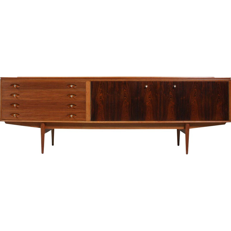 Brass and Rosewood Hamilton Sideboard by Robert Heritage for Archie Shine, 1950s