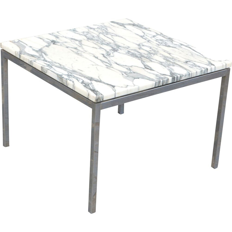 Coffee table in Marble of Florence Knoll edition