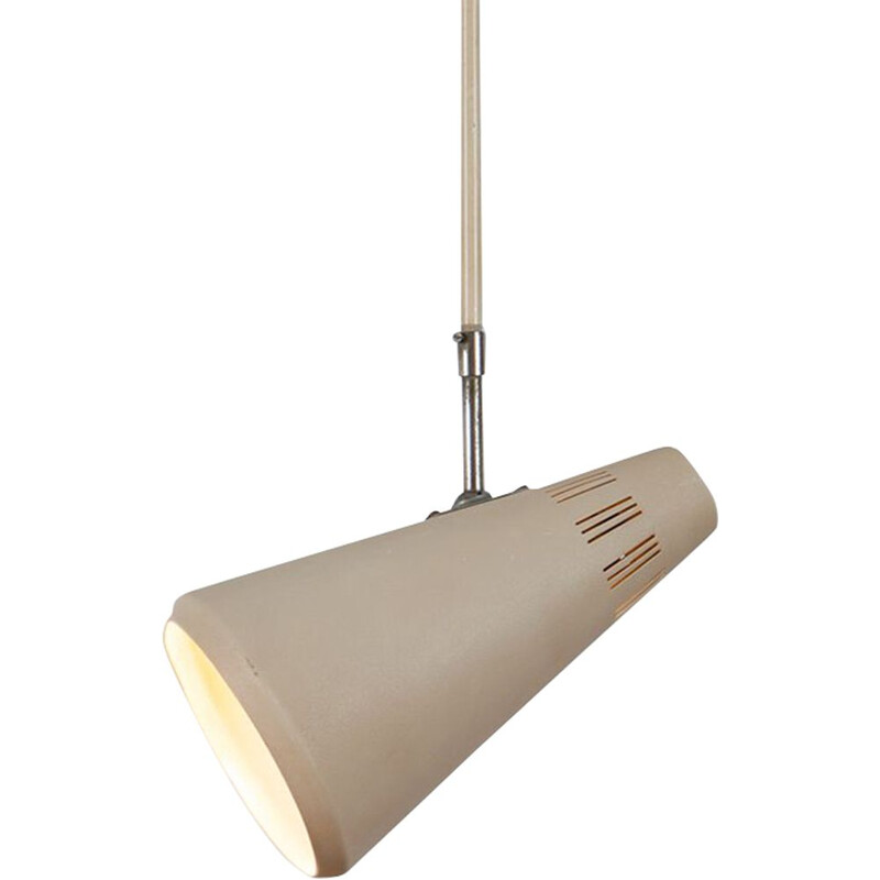 Philips Ceiling lamp Beige lacquered metal