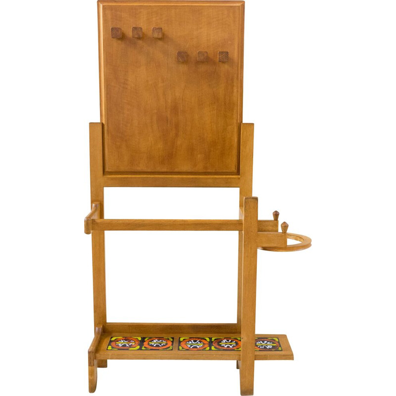 Entrance cabinet by Guillerme and Chambron 1950s