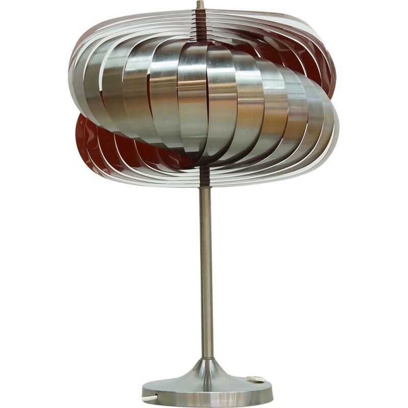 Spiral Table Lamp by Henri Mathieu for Lyfa, 1960s