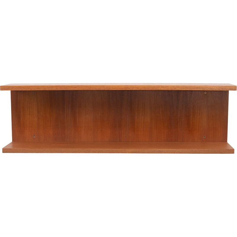 Teak wall shelf 1960s
