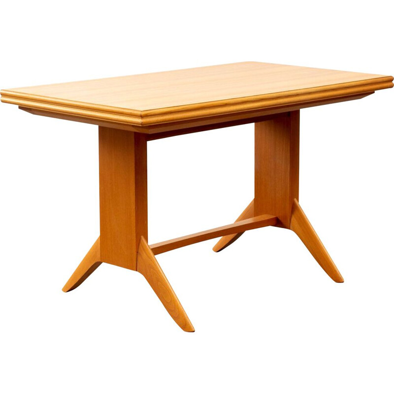 Cherrywood adjustable table from Wilhelm Renz 1950s