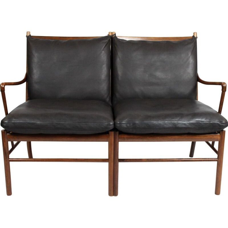 Colonial 2 seater sofa, model OW149-2, manufactured by P. Jeppesen in the 1960s