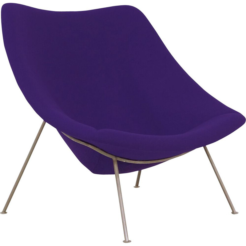 Large Oyster Lounge Chair by Pierre Paulin for Artifort