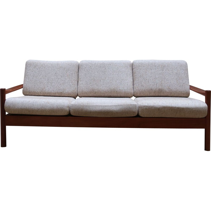 Vintage teak sofa from the 60's