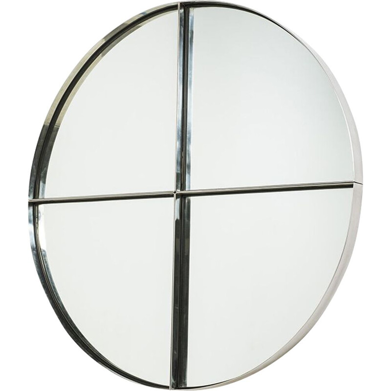 Wall mirror by V. Introini - 1970