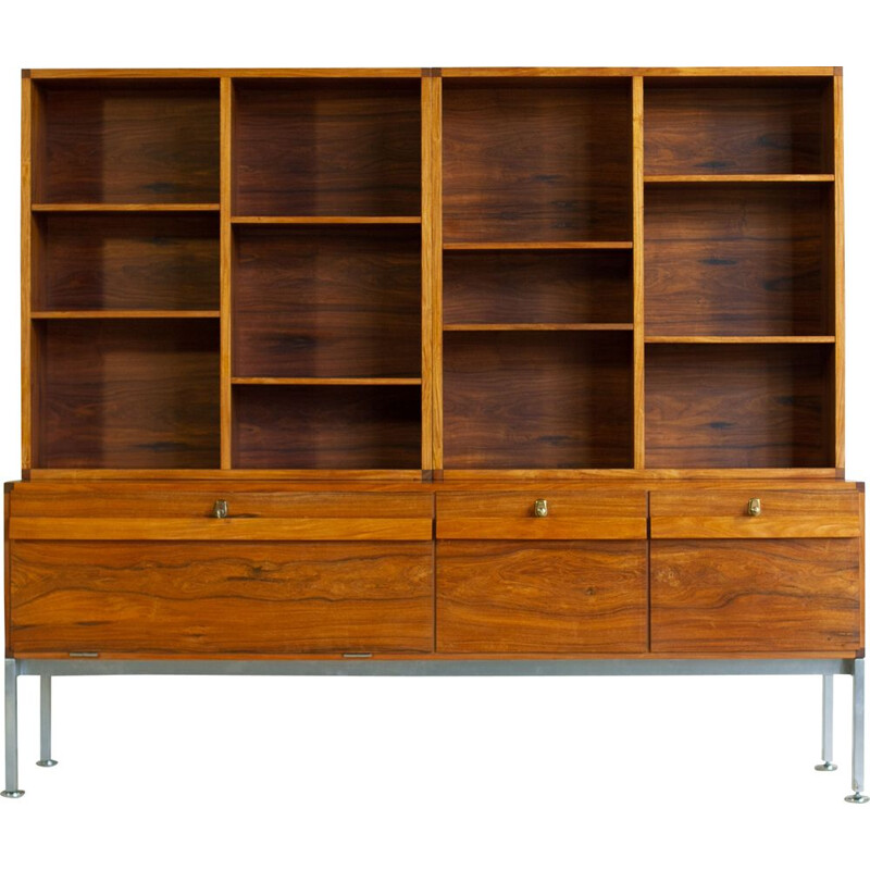 Rare rosewood furniture and office bookcase Denmark 1960