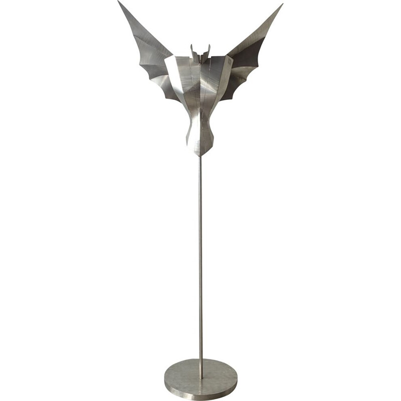 Sculptural Angel vintage Floor Lamp by Reinhard Stubenrauch, 1990s