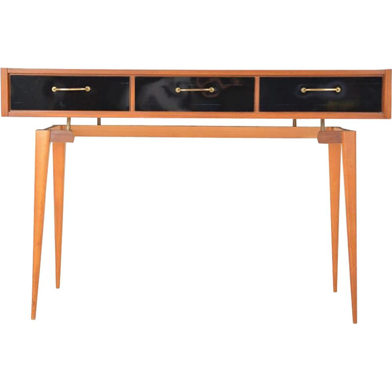 Vintage scandinavian console desk from the 60's