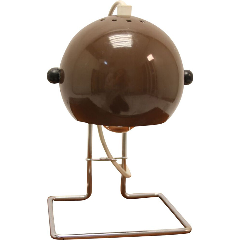 Scandinavian Brown sphere Table lamp