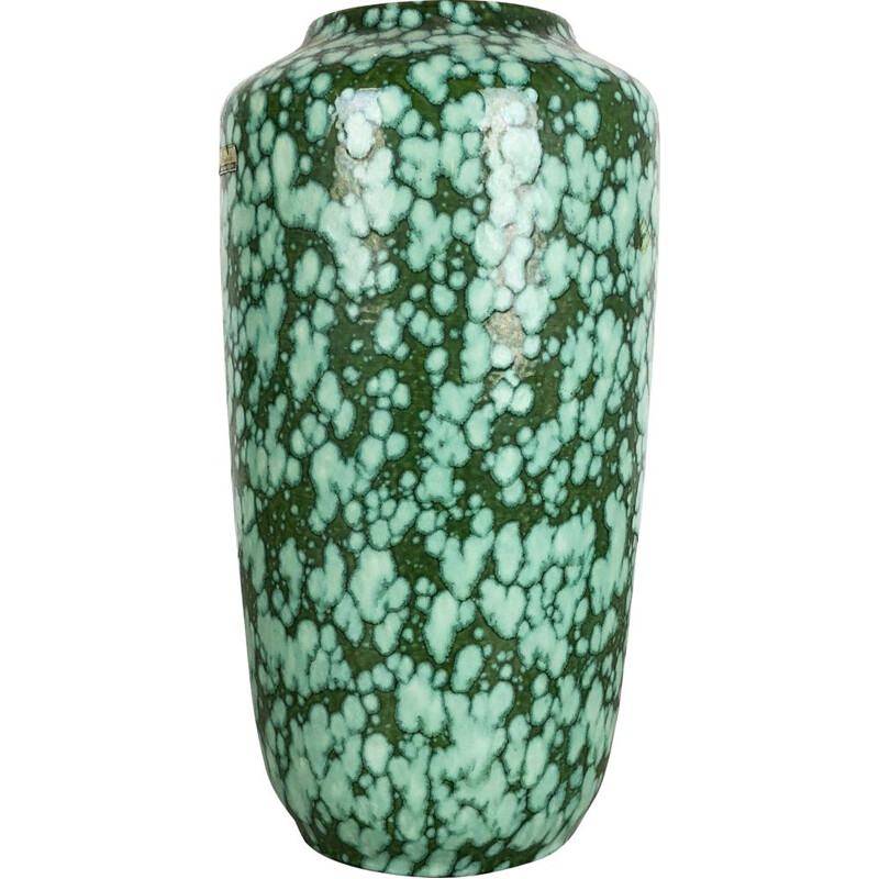 Extra Large Floorvase Fat Lava 517-38 Vase by Scheurich, Germany, 1970s