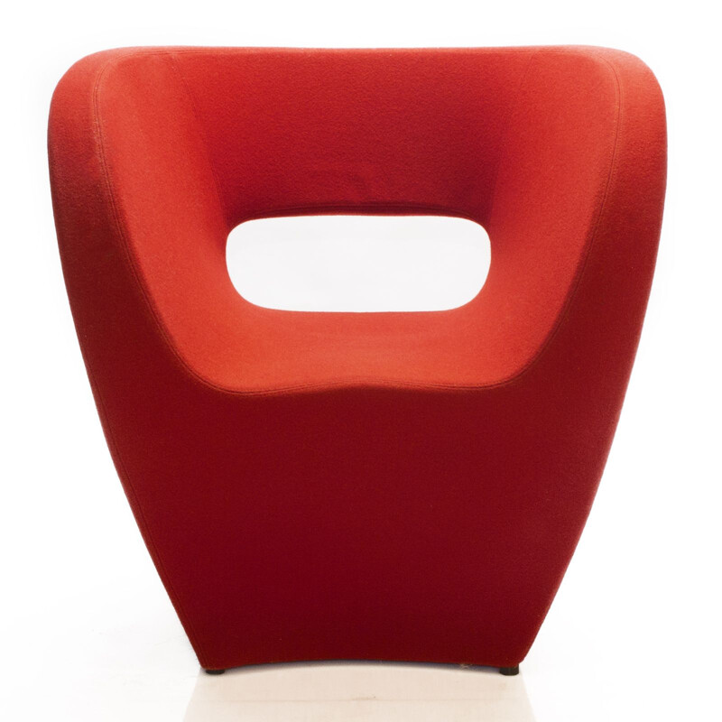 Red Little Albert Lounge Chair by Ron Arad for Moroso, 2001
