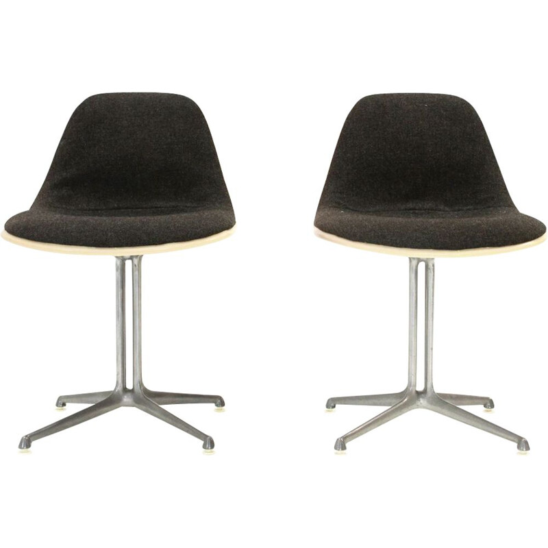 Pair of 'La Fonda' chairs by Charles & Ray Eames for Herman Miller, 1960s