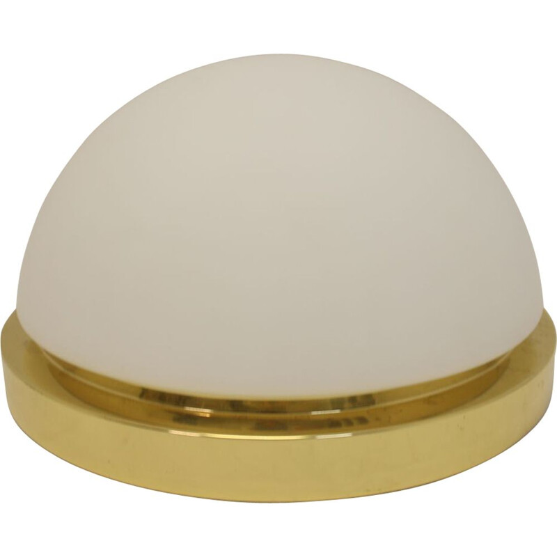 Large golden rounds Ceiling lamp Glassheute Limburg