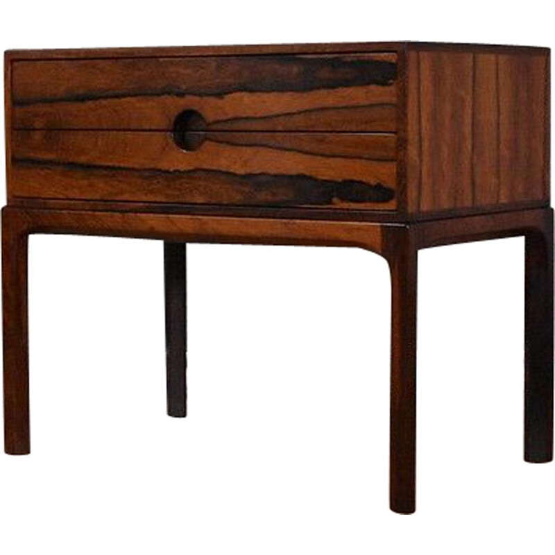 Kai Kristiansen Model 384 Rosewood Chest Of Drawers For Aksel Kjersgaard