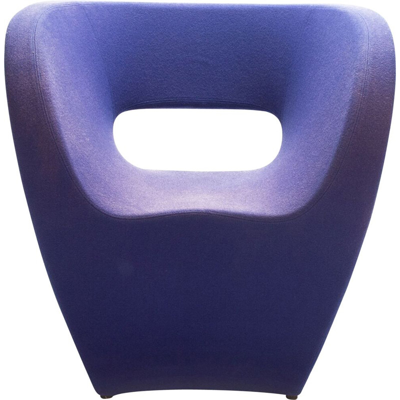 Blue Little Albert Lounge Chair by Ron Arad for Moroso, 2001