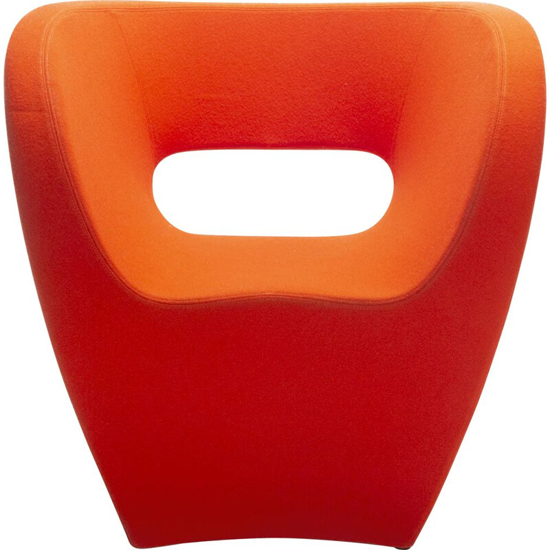 Orange Little Albert Lounge Chair by Ron Arad for Moroso, 2001