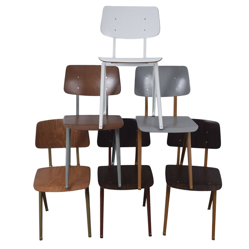 S16 industrial chairs by Galvanitas