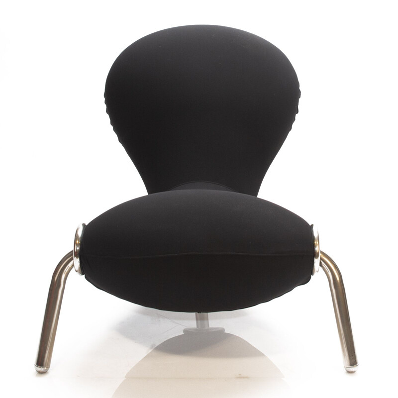 Black Embryo Lounge Chair by Marc Newson for Cappellini, 1990s