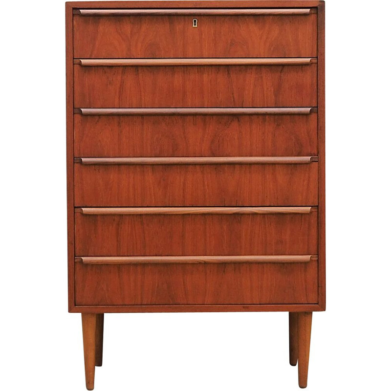 Osakeyhito vintage teak chest of drawers 1970