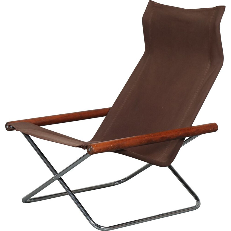 Folding lounge chair  Takeshi Nii, by Jox Interni in Italy 1970s