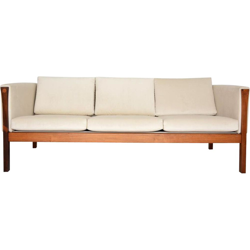 Vintage Danish 3 seater sofa by designer Hans J Wegner Dating 1960