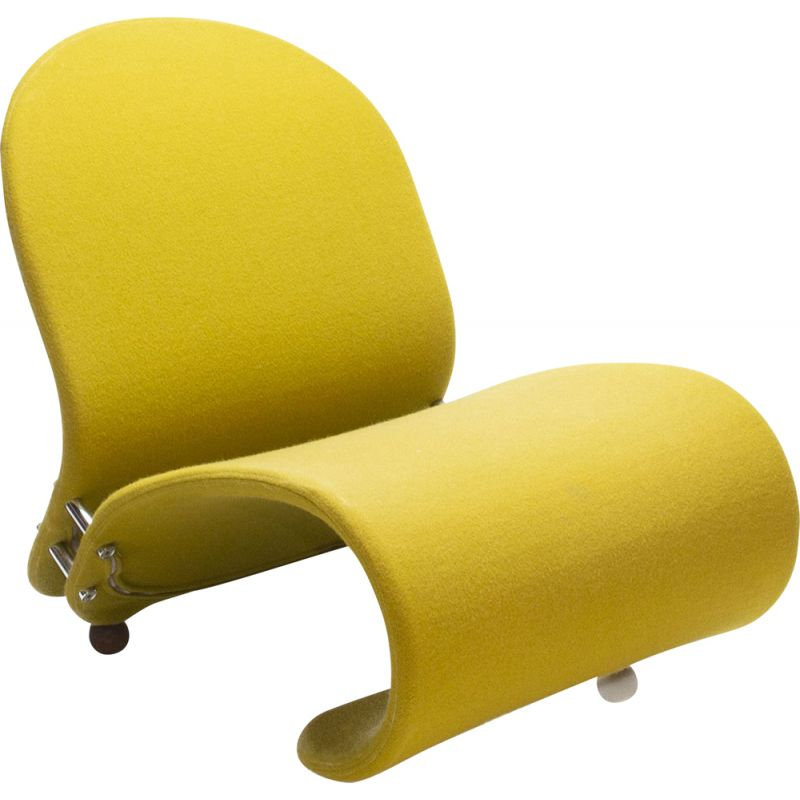 Green G Lounge Chair by Verner Panton for Fritz Hansen, 1970s