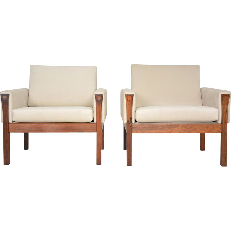 Pair of Danish Armchairs by Hans J Wegner Dating 1960