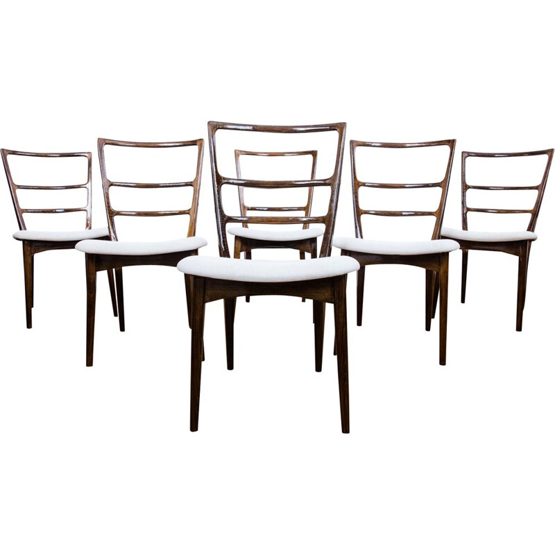 Set Of 6 Chairs vintage By Marian Grabiński, 1960's
