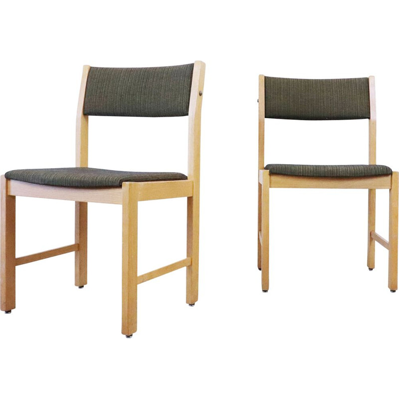 Pair of Scandinavian vintage chairs, Sweden, 1960