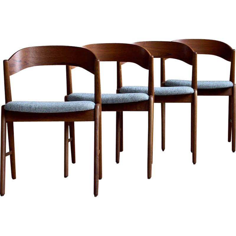 Set Of 4 Dining Chairs 1960s