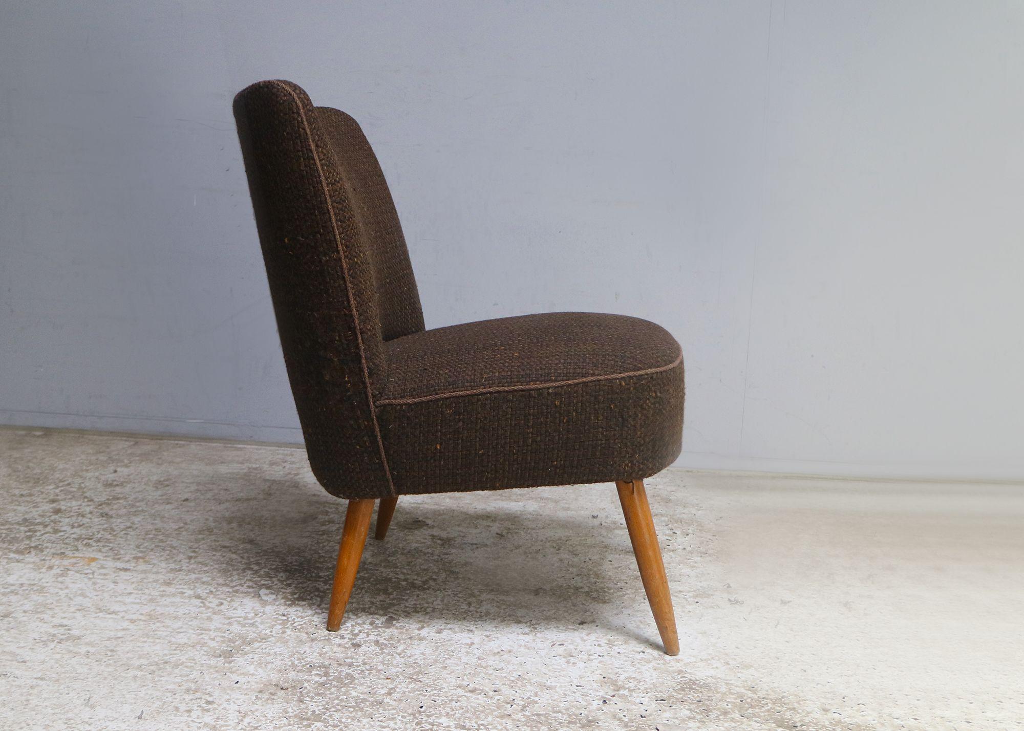 small bedroom armchair danish mid century 1960 s