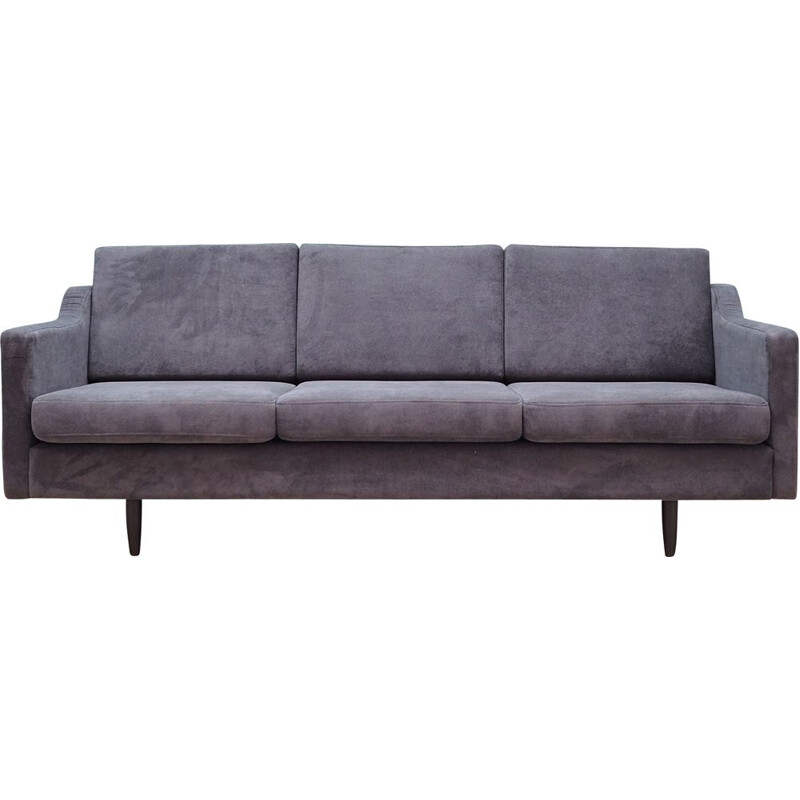 Sofa mid century embourage grey 1970