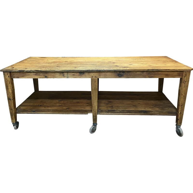 Vintage drapery table from the XXth century