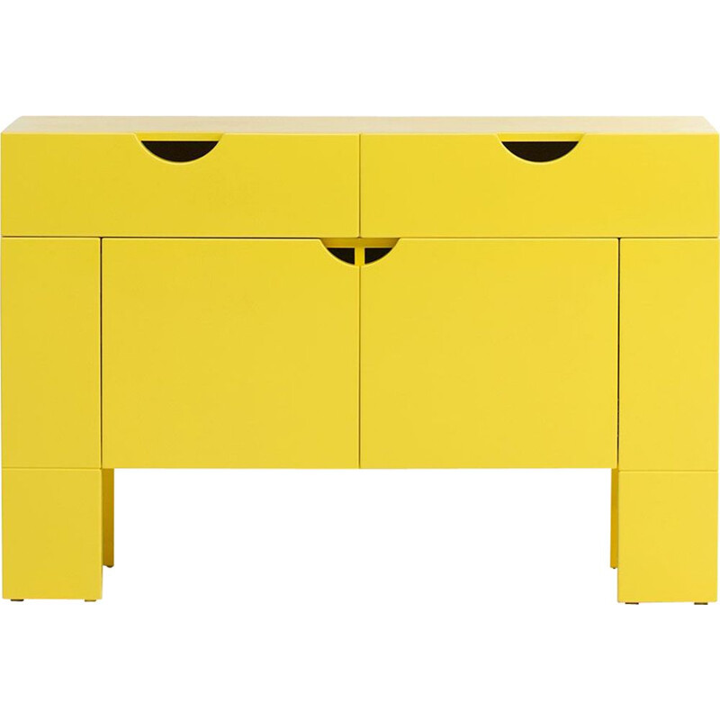 Yellow cabinet by Claire Bataille and Paul Ibens for Spectrum